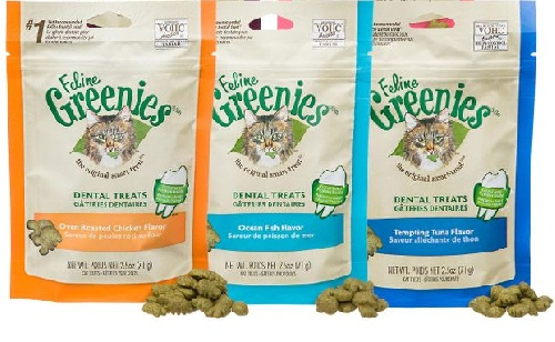 Greenies pet products for cats