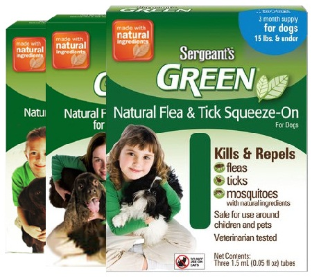 Sergeant pet products for flea and tick