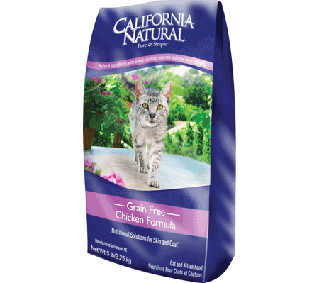 Grain Free Chicken Formula Cat & Kitten Food from California Natural