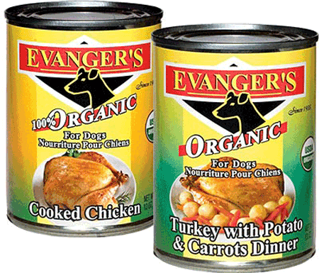 Organic Turkey with potato and carrots dinner from Evanger